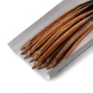 Gerookte paling heel (3-4 stuks/pond)