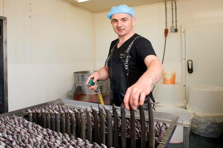 hoe moet je paling schoonmaken